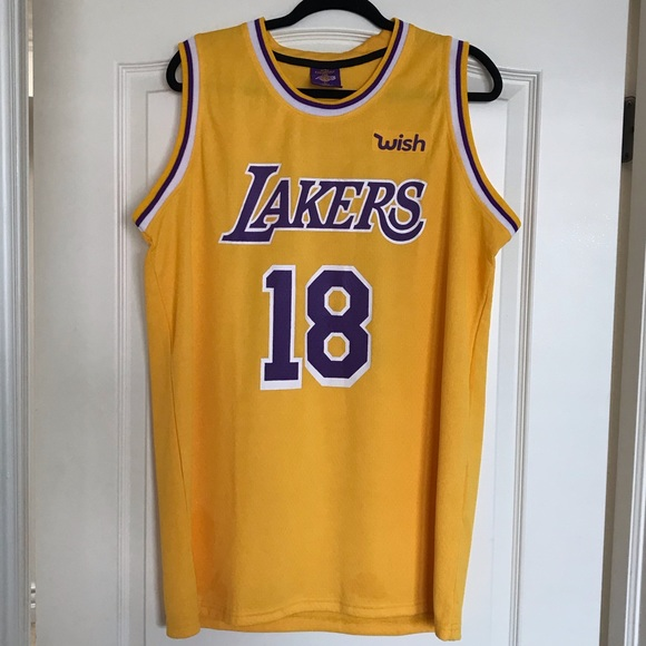 official photos b6b0e 9567d Never Worn LA Lakers Jersey